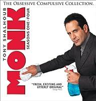 Monk: Obsessive Compulsive Coll - Seasons 1-4 [DVD]