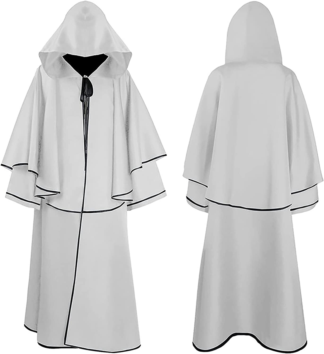 R-cors Unisex Tunic Hooded Robe Cosplay Costume New Orleans Mall Cape Cloak Max 63% OFF Hallo
