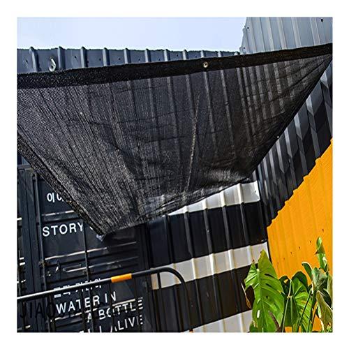 Telas para toldos Black House Shade Paño, Protección UV del 65%, Toldo De La Protección Solar, Sombrilla para El Sol para Porch Planter GANTING ORGENOUSE Pool (Size : 2x6m)
