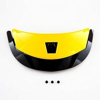 Shoei QWEST アッパーエアインテークバイクヘルメットアクセサリー - ブリリアントイエロー/ワンサイズ