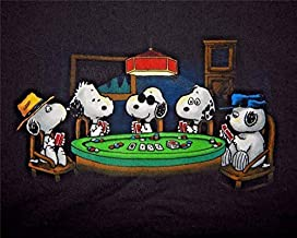 snoopy dogs playing poker