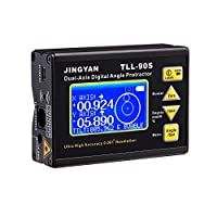 TLL-90S高精度レーザー水準器LCDディスプレイ角度計0.005二軸デジタルレーザー水準器傾斜計