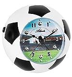 Atlanta 1197 Réveil analogique pour enfant Motif football