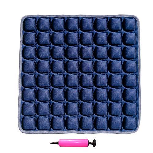 Fieting - Aeris Sedes Orthopädisches Sitzkissen aufblasbar ergonomisch, Comfort Air Cushion, Büro & Home Office Stuhlkissen (Blau)