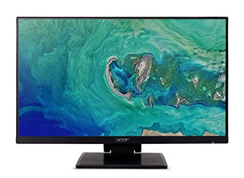 Acer UT241Ybmiuzx 23.8 Inch FHD Touchscreen Monitor, Black (IPS Panel, 4 ms, ZeroFrame, HDMI, USB Hub)