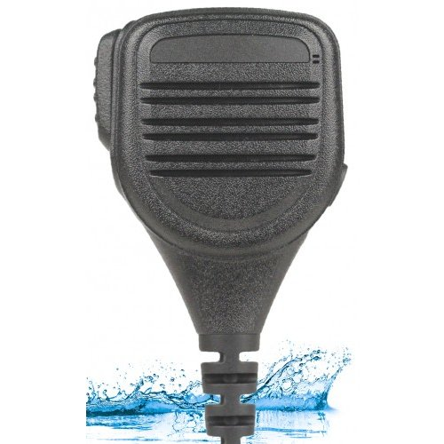 Great Price! Heavy Duty Compact IP67 Speaker Mic 3.5mm Jack for Motorola EX GL GP PRO Radios