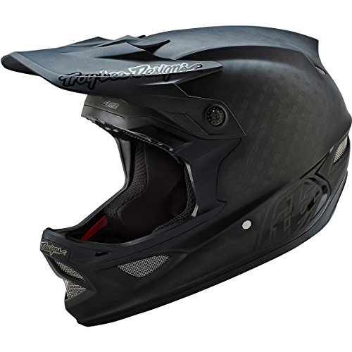 Troy Lee Designs D3 Downhill helmet CF black Head circumference 56-57 cm 2016 downhill full face helmet by Troy Lee Designs