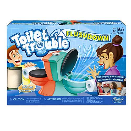 Hasbro Gaming Toilet Trouble Flushdown Game Now $13.99 (Was $24.99)