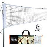 Franklin Sports Volleyball Set - Backyard...