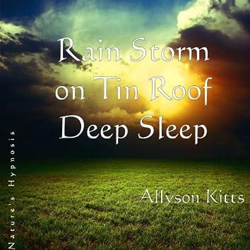 Deep Sleep Rain Storm On Tin Roof Nature's Hypnosis