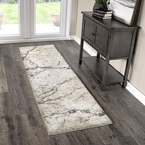 Orian Rugs Super Shag Collection 395242 Marquina Runner Rug, 1'11