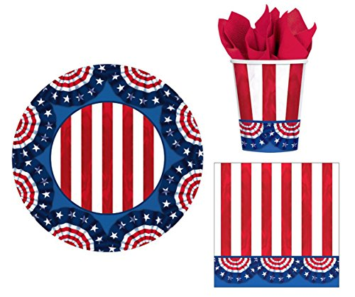 For Sale! American Pride Lunch Party Picnic Set