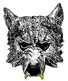 VENTURA TRADING AM6 Lobo Mascarilla Hombre-Lobo Novedad Disfraz Partido Mascarilla máscara de Perro Máscara de Hombre Lobo