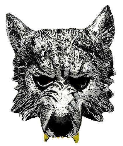 VENTURA TRADING AM6 Lobo Mascarilla Hombre-Lobo Novedad Disfraz Partido Mascarilla mscara de Perro Mscara de Hombre Lobo