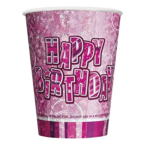 Purchase Unique Party 9oz Prism Cup - Pink Glitz (One Size) (Pink)