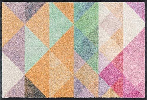 Wash + Dry Snorre Fußmatte, Acryl, bunt, 50x75x0.7 cm