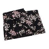 sharprepublic Plum Blossom Japanischer Kimono Baumwollstoff