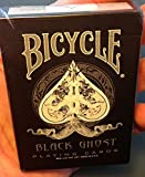 Bicycle Ellusionist Ghost Black Magic 1st Edition Playing Cards Circa 2005 - One of a Kind- Rare Magicians Limited Classic Deck - United States Playing Cards Company