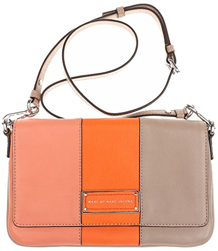 Marc Jacobs Too Hot To Handle ColorBlock Flap Percy Spring Peach (Marc Jacobs Too Hot To Handle Handbag)