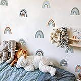 Papel Pintado De Arcoíris Para Decoración De Pegatinas De Pared Modernas Decoración De Pared De Habitación Para Adolescentes En La Pared Del Dormitorio, Pegatinas De Pared De Arcoíris, Pegatina