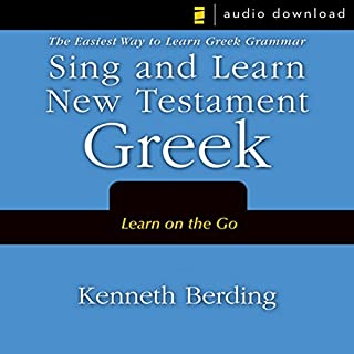 Sing and Learn New Testament Greek cover art
