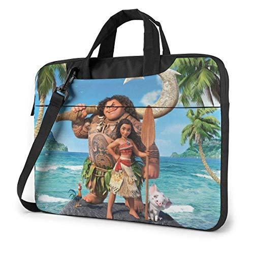 Hdadwy Moana Laptop Sleeve Laptop Bag Tablet Briefcase Ultraportable Protective Handbag Oxford Cloth-for MacBook Pro/MacBook Air/Notebook Computer 13inch