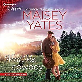 Need Me, Cowboy audiobook cover art