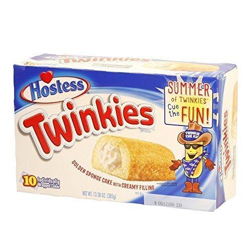 Hostess Twinkies Mini Kuchen mit Cremefüllung 10 Stück