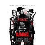 arteWOODS Django Unchained Film Wandaufkleber Poster Kunst