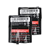 3.6V 1100mAh Rechargeable Batteries for Motorola 53615 KEBT-071A KEBT-071-B KEBT-071-C KEBT-071-D, 2 Pack