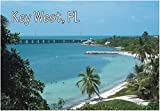 Key West, Florida, Beach, Palm Trees, FL, Souvenir Magnet 2 x 3 Fridge Magnet