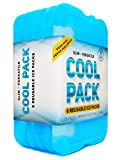Ice Pack for Lunch Box - Freezer Packs - Original Cool Pack (Set of 6) | Slim & Long-Lasting Ice Packs for your Lunch or Cooler Bag