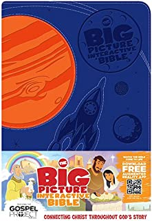 The Big Picture Interactive Bible for Kids, Orange/Purple Creation LeatherTouch: Connecting Christ Throughout God's Story (The Big Picture Interactive / The Gospel Project)