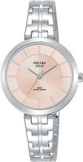 Pulsar Women's Analogue Analog Quartz Watch with Stainless Steel Strap PY5059X1