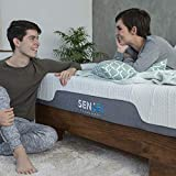 SenSei Orthopaedic Memory Foam (King Size) Mattress in a Box l Manufactured with CertiPUR-US l Certified Foams with Removable, Hypoallergenic Cover l Semi Firm (King)