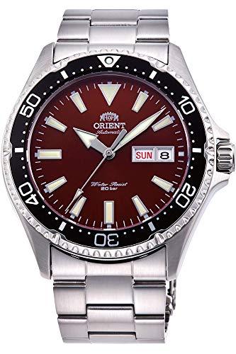 [オリエント] ORIENT 腕時計 MAKO Ⅲ 自動巻き(手巻付き) 海外モデル レッド サファイヤクリスタル RA-AA0003R19B メンズ [並行輸入品]