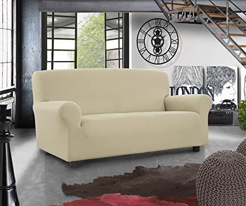 Banzaii Funda Sofa Elastica – 2 Plazas Leche – Subito Fatto Made in Italy