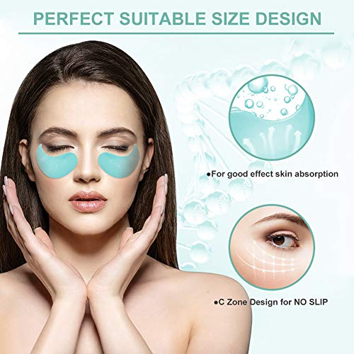 513CYrq3CvL - Under Eye Mask, Collagen Eye Mask, Anti Aging Eye Patch, Collagen Eye pads, Eye Treatment Mask, for Puffy Eyes & Bags, Dark Circles and Wrinkles,with Collagen, Hyaluronic Acid, Hydrogel