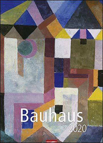 Bauhaus. Wandkalender 2020. Monatskalendarium. Spiralbindung. Format 49 x 68 cm