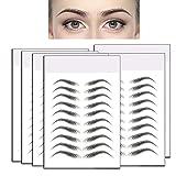 WEGOTTABB 6 sheets 6D Hairlike Eyebrow Tattoo...