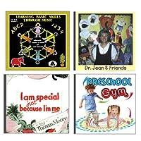 Becker's Exclusive Kits CD514K Preschool Fun CD Set (Pack of 4) [並行輸入品]