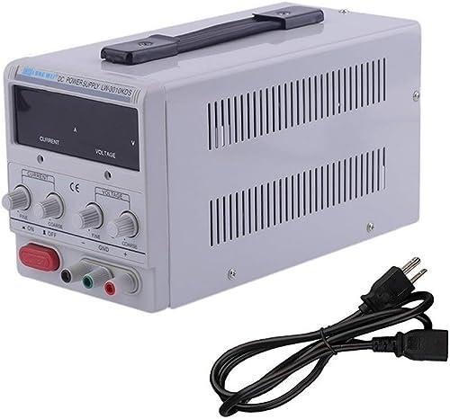 leoboone Universal-DC0-30V Stromversorgung Adjustable Dual Digital Variable Precision überlastung Kurzschlussschutz Versorgungs