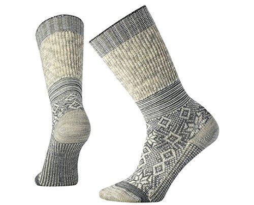 SmartWool Women's Snowflake Flurry Socks (Natural Heather) Medium