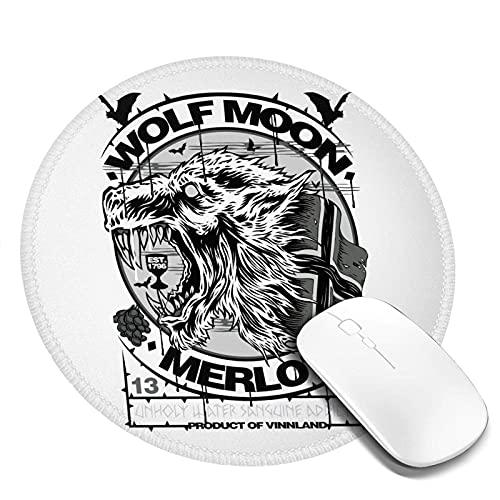 Typ O Negatives Cooles Mauspad Rutschfeste Gummiunterseite Mousepad mit genähter Kante