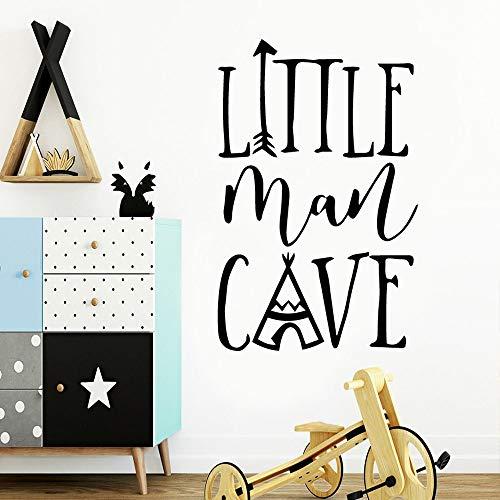 Amerikanischen Stil Little Man cave Wandaufkleber Von Einrichtungs Dekorative Wandaufkleber Für Kinderzimmer Dekoration Decal42 * 65 cm