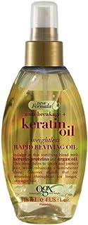 OGX Hair Oil, Anti-Breakage+ Keratin Oil, Rapid Reviving Spray, 118 ml