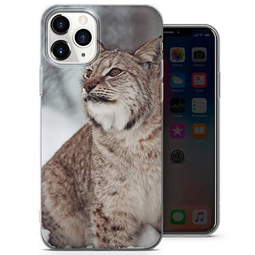 Carcasa protectora para iPhone 6+/6s+, diseño de gato salvaje D010