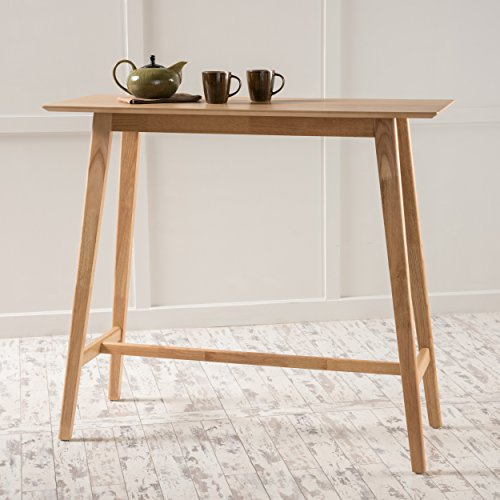 Christopher Knight Home Moria Wood Bar Table, Natural Oak Finish