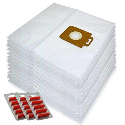 Spares2go Sacs Chiffon de nettoyage en microfibre pour Nilfisk Power P10 P12 P20 P40 Aspirateur (lot de 15 + 15 désodorisants)