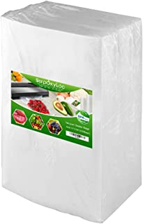 Premium!! SurpOxyLoc 4mil100 Gallon Size11x16Inch Food Saver Vacuum Sealer Bags with BPA Free,Heavy Duty,Great for Sous Vi...